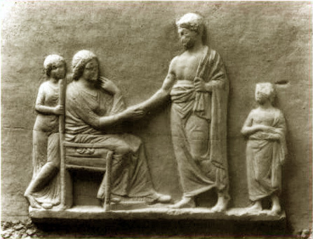 "ancient greek marital and gender roles Marriage in ancient athens hopefully the one he picked would do a good job in both roles ""love and marriage in greek new comedy""."