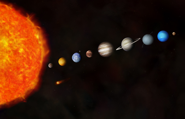 mass of planets in solar system - photo #39